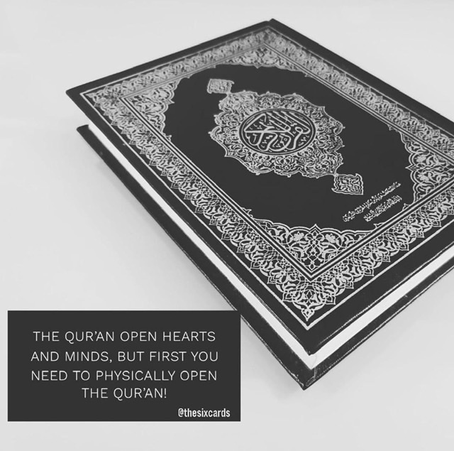 We need Qur'an…