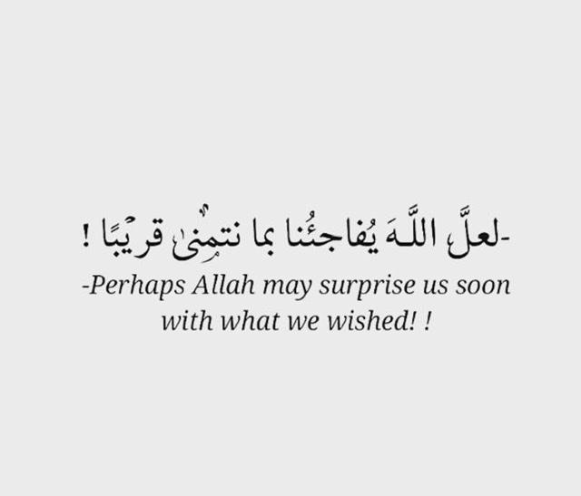 Seek Allah